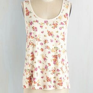 Pop of Pattern Top in Floral in 3X